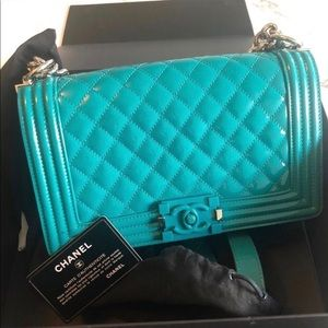 Medium Size Chanel Le Boy Full Set!